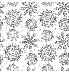 vintage seamless pattern for your design vector image vector image