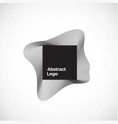 Abstract blend sign symbol or logo vector