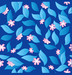 Flowery seamless background 3 vector