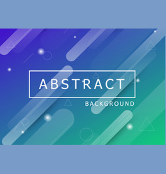 geometric dynamic shapes abstract background vector image