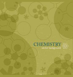 molecule background vector image