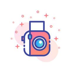 Polaroid linecolor vector