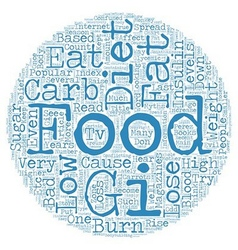 Why Low Carb Diets Are Bad For Weight Loss text vector image