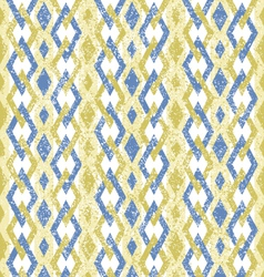 Geometric pattern with color rhombus vector image