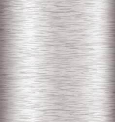 metal brushed steel vector image