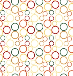 abstract Circle Seamless Pattern semaless vector image vector image