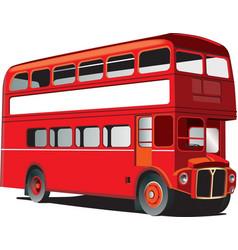 London double decker bus vector image