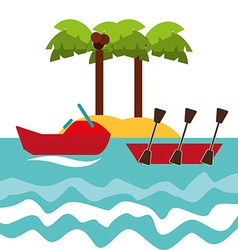 nautical sport vector image vector image