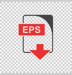 eps icon flat vector image