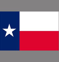 Flag texas usa vector
