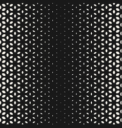 halftone texture floral seamless pattern vector image