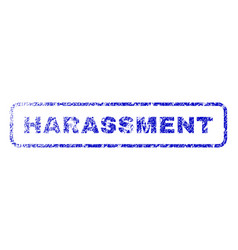 Harassment rubber stamp vector