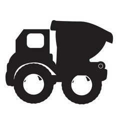 isolated truck toy vector image