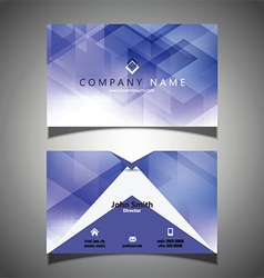 Modern business card design 2010 vector