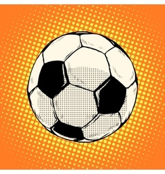 Soccer ball football vector