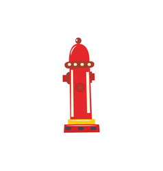 water hydrant icon vector image