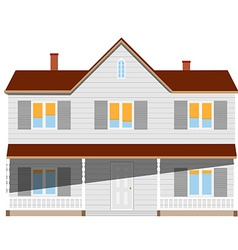 House two story vector image
