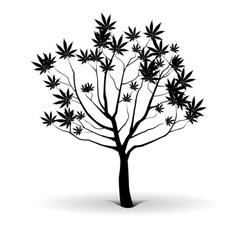 Tree of joy vector image vector image
