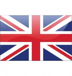 English flag vector image vector image