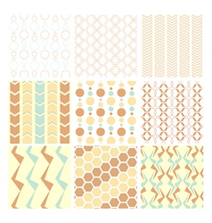 seamless pattern and wallpaper vector image vector image