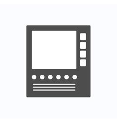 Intercom for communication vector image