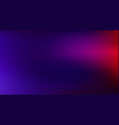 Abstract dark blue blurred background red vector