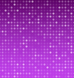 Circles purple technology pattern vector image