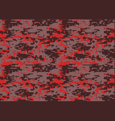 digital camouflage pattern woodland camo texture vector image