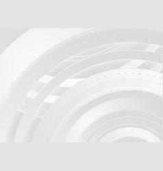 grey abstract concept hi-tech background vector image