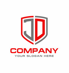 jd logo vector image