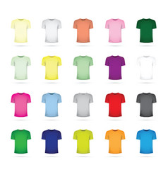 Large set of t-shirts vector
