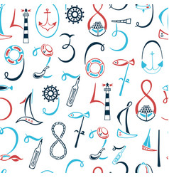 lettering numbers 1 2 3 4 5 6 7 8 9 0 vector image