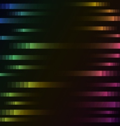 rainbow color of abstract pixel speed background vector image