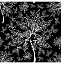 Seamless tree pattern 011 vector
