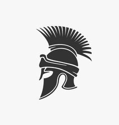ancient military helmet vector image