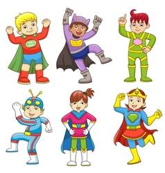 superchild v vector image vector image