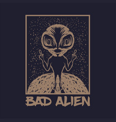 Bad alien vector