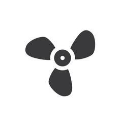 big propeller icon vector image