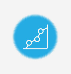 graph icon sign symbol vector image