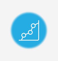 graph icon sign symbol vector image