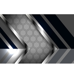 Modern style abstract metal background vector