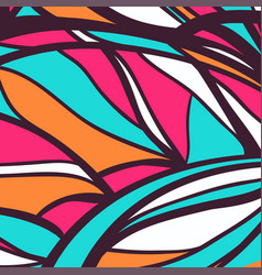 Modern style abstraction pattern vector