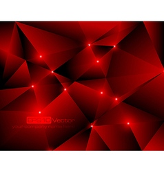 Red abstract technology background vector