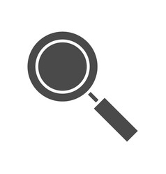 search solid icon vector image