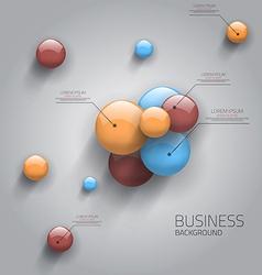 business sphere design vector image