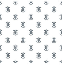 corn pattern seamless vector image