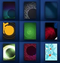 Huge mega pack Brochure design template set vector