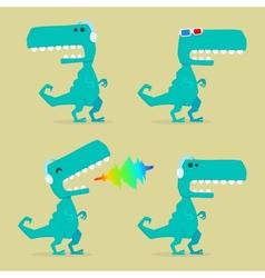 Mediasaur vector