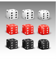 Set different dice vector