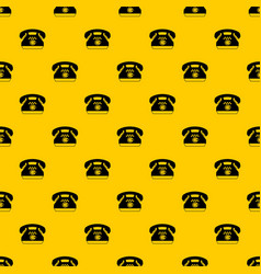 taxi phone pattern vector image